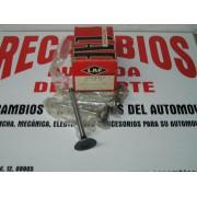 JUEGO DE 4 VALVULAS ADMISION SIMCA 1200 MOTOR 350 REF LAF 1904-AD