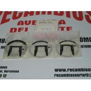 JUEGO DE SEGMENTOS PARA DOS CILINDROS CITROEN 2CV REF P.CIRCLE 52098
