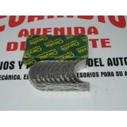 COJINETES TAPETAS DE BANCADA SEAT 128-124 REF CLEVITE MBS5891AL