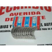 COJINETES TAPETAS BANCADA SIMCA 1000 MOTOR 349 REF DESLITE CRP C/S 75-4