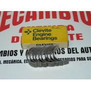 COJINETES TAPETAS DE BIELA SEAT 124 REF CLEVITE