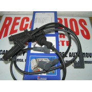 JUEGO DE CABLES BUJIAS CITROEN AX-ZX PEUGEOT 106-205-306-309-405 REF 4334