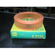 Filtro de aire FORD ESCORT 1.3L y FIESTA 1.3 MANN C2135