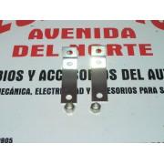 JUEGO SOPORTES MATRICULA DELANTERA SEAT