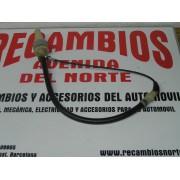 CABLE EMBRAGUE FORD FIESTA DEL 84-89 LARGO 680 mm CON SERVOFRENO