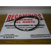 CABLE EMBRAGUE CON REGULADOR Y ENGRASADOR SEAT 131 LARGO 120 CMS