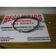 CABLE EMBRAGUE SEAT 131 SIN REGULADOR Y CON ENGRASE LARGO 120 CMS