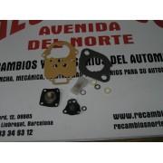 KITS REPARACION CARBURADOR FORD FIESTA WEBER 32 ICH