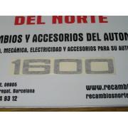 ANAGRAMA ADHESIVO NEGRO 1600 SEAT 124-1430