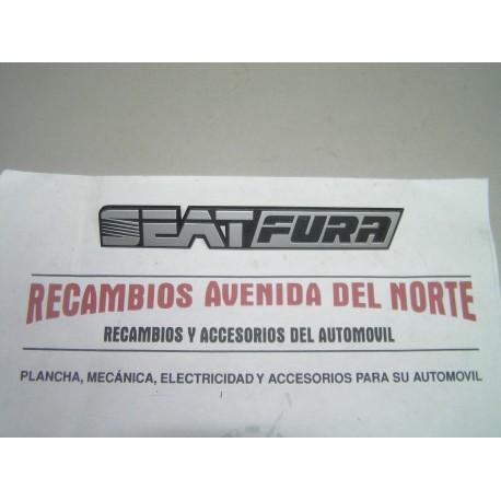 ANAGRAMA TRASERO SEAT FURA