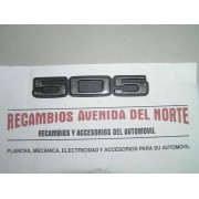 ANAGRAMA TRASERO PEUGEOT 505