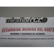 ANAGRAMA TRASERO SEAT 131 MIRAFIORI CL D