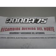 ANAGRAMA TRASERO SEAT RONDA 75