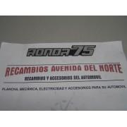 ANAGRAMA PEQUEÑO SEAT RONDA 75