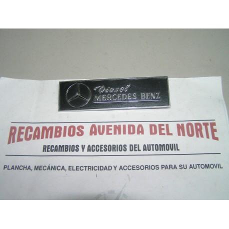ANAGRAMA TRASERO SEAT 132 DIESEL MERCEDES BENZ