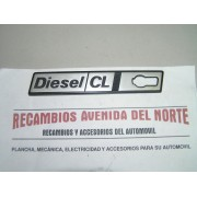 ANAGRAMA LATERAL SEAT RITMO DIESEL CL