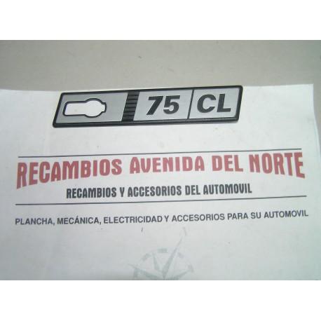 ANAGRAMA LATERAL SEAT RITMO 75 CL DERECHO