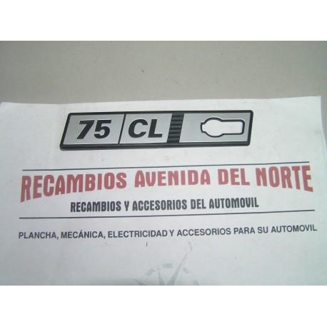 ANAGRAMA LATERAL SEAT RITMO 75 CL IZQUIERDO