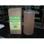 Filtro de aire MANN C17 225/3, MB TRAC, MAN, IVECO, DAF, VW LT, RENAULT