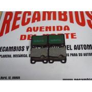 PASTILLAS FRENO TRASERAS OPEL MERCEDES Y SAAB NECTO 6276E
