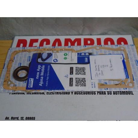 JUEGO DE JUNTAS COMPLETO CON RETENES CAMBIO SEAT 124-1430-131-132 5 VELOCIDADES