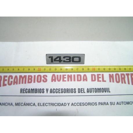 ANAGRAMA TRASERO 1430 SEAT 124 FL