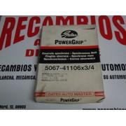 CORREA DISTRIBUCION DATSUN CHERRY SUNNY MAZDA 626 REF POWERGRIP 5067-41106X3/4