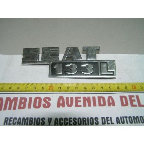 ANAGRAMA TRASERO SEAT 133 L