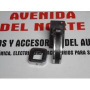 MANETA APERTURA PUERTA METALICA CON ESCUDO SEAT 132