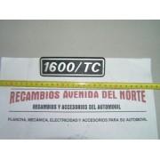 ANAGRAMA LATERAL SEAT 131 1600 TC METALICO