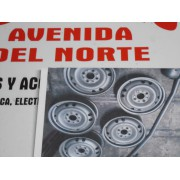 LLANTA RUEDA SEAT PANDA MARBELLA MEDIDAS 13 X 4,5