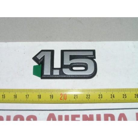 ANAGRAMA 1.5 ADHESIVO SEAT IBIZA MALAGA