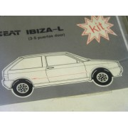 KIT BANDA LATERAL SEAT IBIZA COLOR PLATA