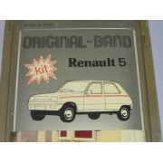 KIT BANDA LATERAL RENAULT 5 GRANATE