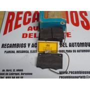 PASTILLAS DE FRENO FORD GRANAD 2800 A PARTIR DEL 82 NECTO FDG 287