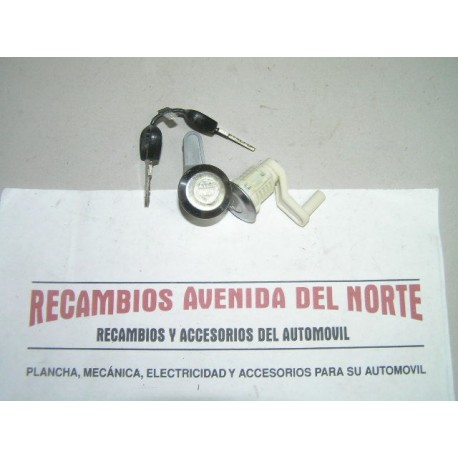 JUEGO CERRADURAS MISMA LLAVE PUERTAS DELANTERAS PEUGEOT 505 MODERNO