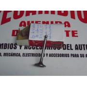 JUEGO DE 4 VALVULAS ADMISION RENAULT 5-6-8-12-UNA RANURA