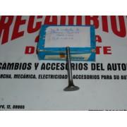 JUEGO DE 4 VALVULAS DE ADMISION SEAT 124