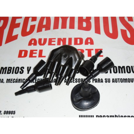 EQUIPO PROTECTOR ANTIHUMEDAD TAPA DELCO BOBINA Y BUJIAS SEAT 850 124 Y 1430 RENAULT 4 6 8 10 12 AUTHI MORRIS MG 1100 Y 1300