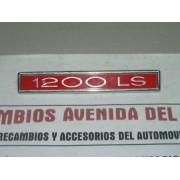 ANAGRAMA SIMCA 1200 LS