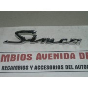 ANAGRAMA SIMCA METALICO OCASION