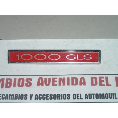 ANAGRAMA SIMCA 1000 GLS