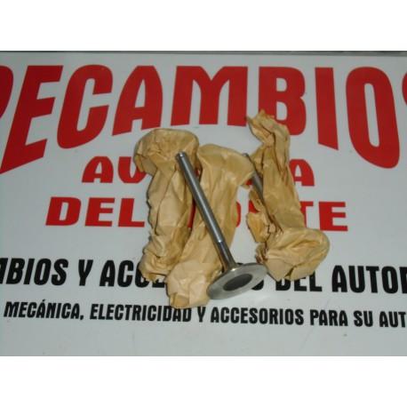 VALVULAS DE ADMISION (4) SEAT 124 ESPECIAL 132 GL Y GLS 2º SERIE REF 3453R