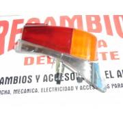 PILOTO TRASERO DERECHO COMPLETO ON JUNTA Y BOMBILLAS NUEVO CON SEÑALES DE ALMACENAJE SEAT 600 E Y L