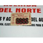 JUEGO DE RETENES VALVULAS SEAT 124 1430 1600 1800 2000 RITMO AJUSA ST5136J