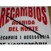 MOLDURA VIERTEAGUAS DELANTERA DERECHA FORD FIESTA REF ORG, 1583125