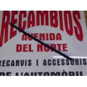 MOLDURA VIERTEAGUAS DELANTERA IZQUIERDA FORD FIESTA REF ORG, 1583123