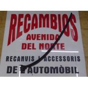 MOLDURA PERFIL PARABRISAS DELANTERO IZQUIERDO SEAT LEON TOLEDO REF ORG, 1M0854327C