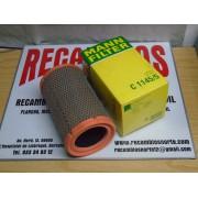 FILTRO AIRE RENAULT CLIO Y KANGOO REF MANN C1145/5 Y /6