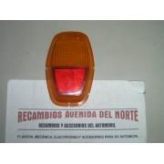 TULIPA TRASERA IZQUIERDA AMBAR SEAT 128